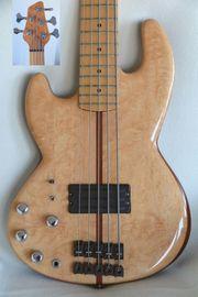 Bassgitarre lefthand Converted Ibanez ATK-305