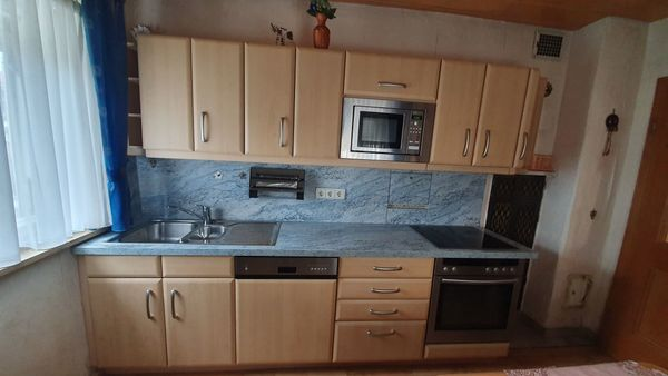 Einbauküche von Nolte mit Küchengeräten