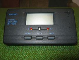Gitarren/-zubehör - Stimmgerät Seiko ST -727