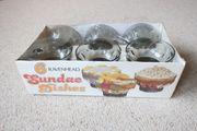 Verkaufe 6 Ravenhead Sundae Dishes