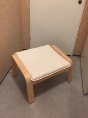 Pöang Ikea Fußhocker neuwertig