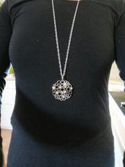3 teilige Halskette mit Neodym