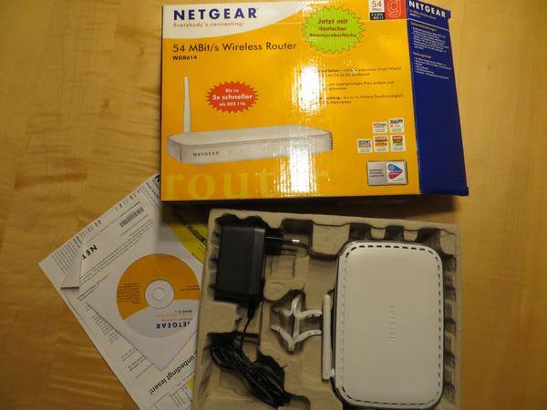 Netgear Wireless Router WGR614