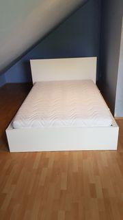 Bett 140x200cm Ikea Malm