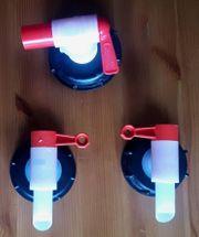 Wasserkanister-Auslaufhahn-Set AFT 61 und KTH