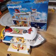 Wie NEU Playmobil Kreuzfahrt Schiff