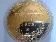 Sammlermünze Medallie