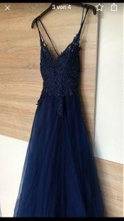 Abschlusskleid Abendkleid Blau