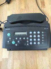 Telefon mit AB Fax