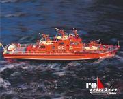Gesamtpaket Bausatz Feuerlöschboot Düsseldorf 1