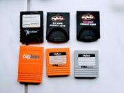 Nintendo Gamecube Wii Memory Cards