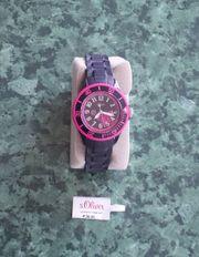 Mädchen Armbanduhr von s Oliver