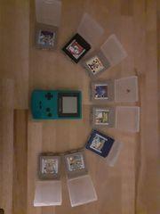 GameBoy Color mit 8 Spielen