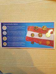 Kleinmünzensatz Österreich 2002