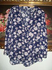 Bluse Blumen Gr 42