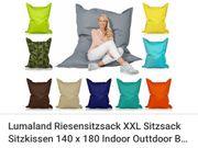 Lumaland Sitzsack XXL Sandfarben