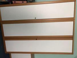 Hülsta Kinderzimmermöbel (1 Kleiderschrank, 2 Kommoden, 1 Wandregal)