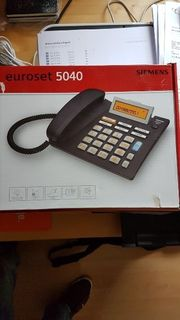 Grosstastentelefon SIEMENS EUROSET 5040 TELEFON