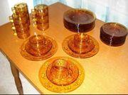 70er VERECO Duralex Glas-Kaffee Tee