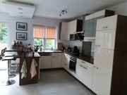 Einbauküche mit Bartheke inkl Barbeleuchtung