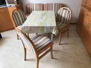 Hochwertige Esszimmer Garnitur mit Sitzbank