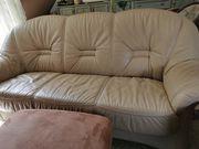Hochwertige Couch aus echtem Leder
