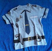 T-Shirt Polizei Gr 104