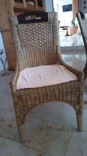 Stühle aus Rattan