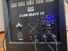 PA, Licht, Boxen - DAP Clubmate 15 aktives PA