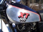 XT 500 Silbertank Klassiker