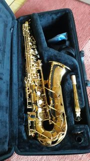Alt-Saxophon von Yamaha mit Koffer