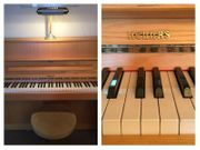 HELLAS Klavier mit Hocker und