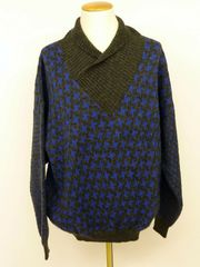 GIN TONIC - Herren Pullover blau-grau