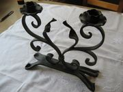 Kerzenständer Schmiedeeisen Handarbeit Schlosserarbeiten Geschenk