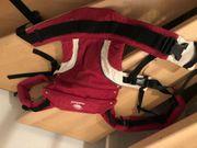 Manduca Babytrage Red rot 1