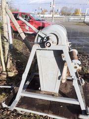 Bauaufzug Seilwinde benzinmotor