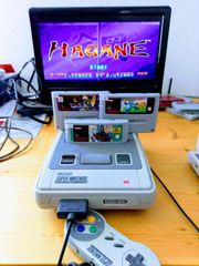 Super Nintendo SNES Konsole 1