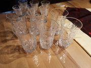 Bleikristall Gläser 12 Stück