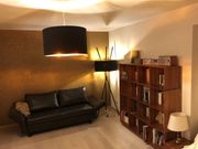 Stehlampe Schwarz Gold 1 x