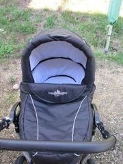Kinderwagen Bergsteiger Cabri Black Edition