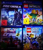 PS 4 Spiele