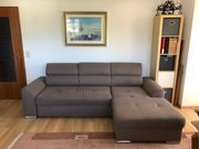 Sofa Ecksofa Couch mit Schlaffunktion