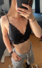 Sexy Bralette Gr 75b Schwarz