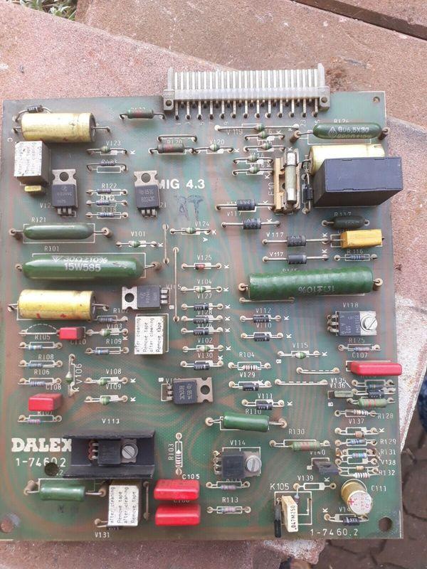 DALEX Steuerplatine MIG 4 3