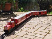 Diesel-Lok von LGB mit zwei