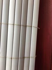 Sichtschutz PVC hellgrau