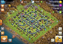Rathaus 13 Komplett MAX + Nachtbasis MAX - Free Namechange - Clash of Clans Account- COC