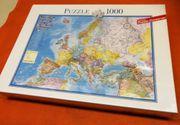 Puzzle Europa NAGELNEU