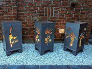Garten Feuertonne mit Motiv Feuerkorb