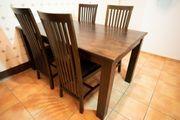 Esszimmertisch Esstisch Sheesham Holz 160